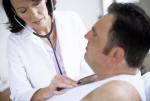 Lekarka z pacjentem